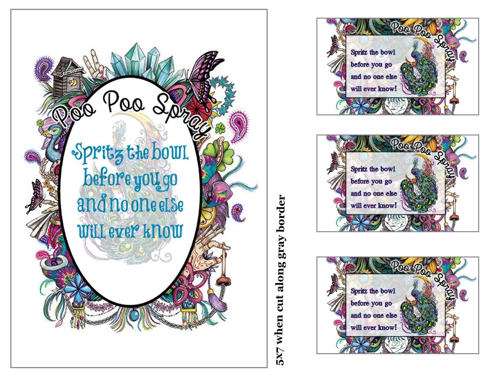 poo pourri label instructions