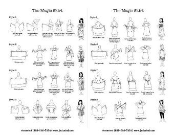 wrap magic skirt instructions