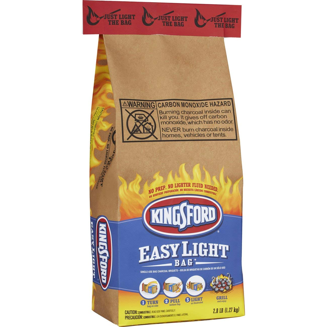 kingsford easy light bag instructions