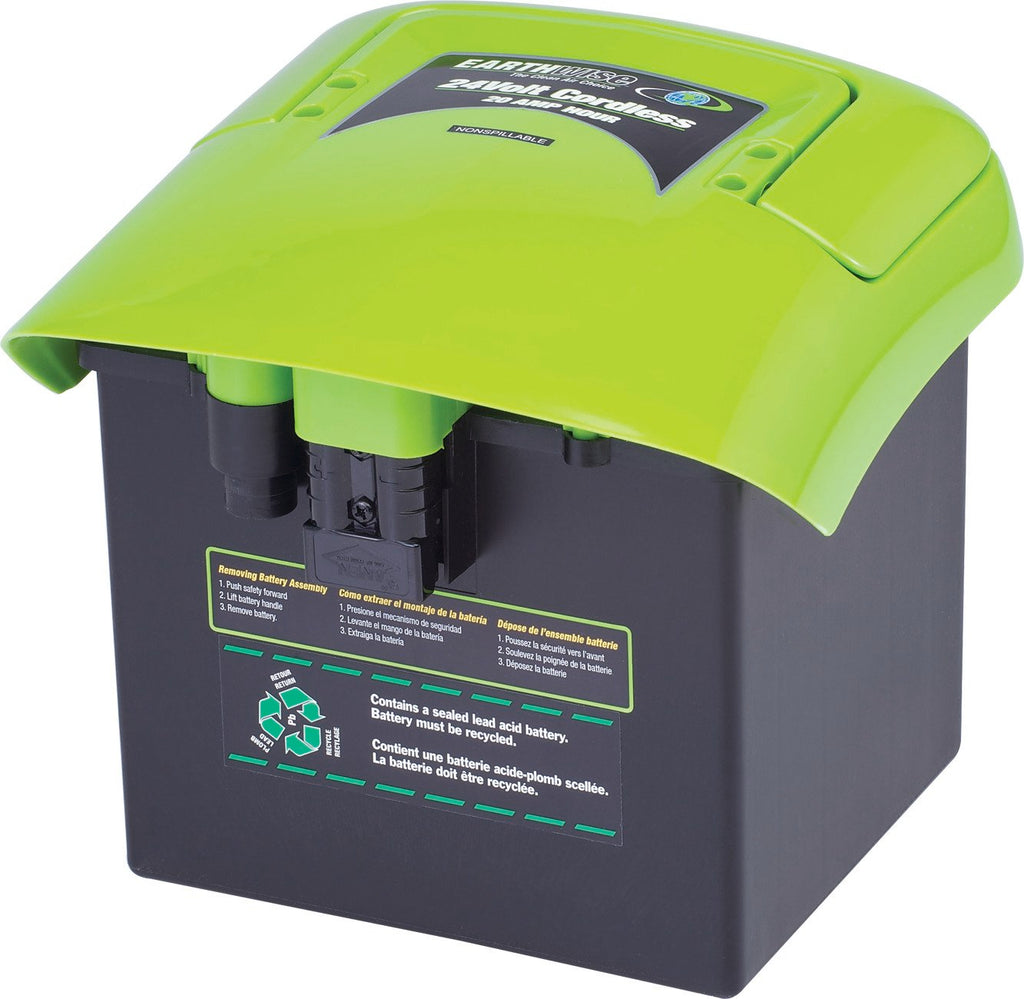 earthwise mower battery replacement instructions
