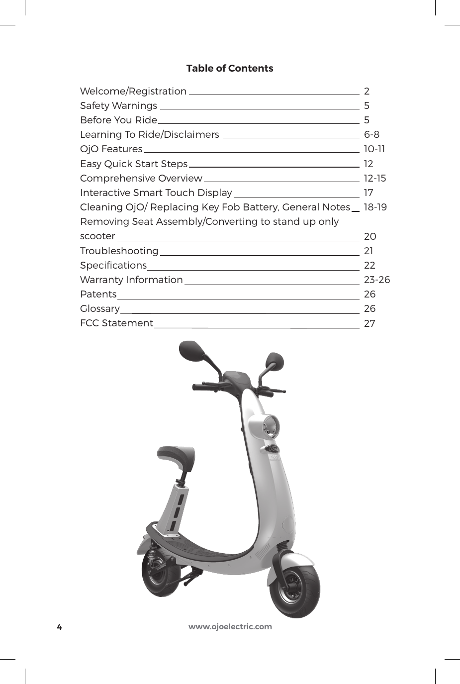 electric e scooter instructions