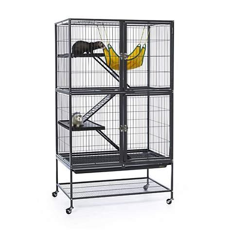 prevue hendryx black feisty ferret cage instructions