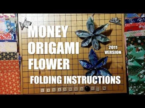 dollar bill folding instructions