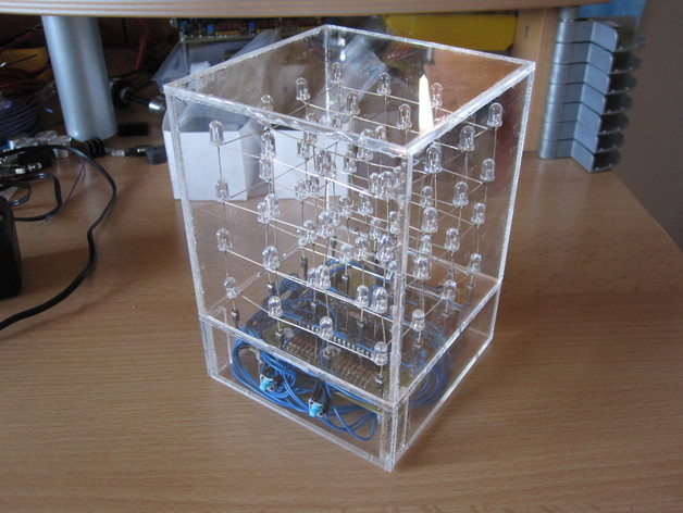 glass cube display assembly instructions