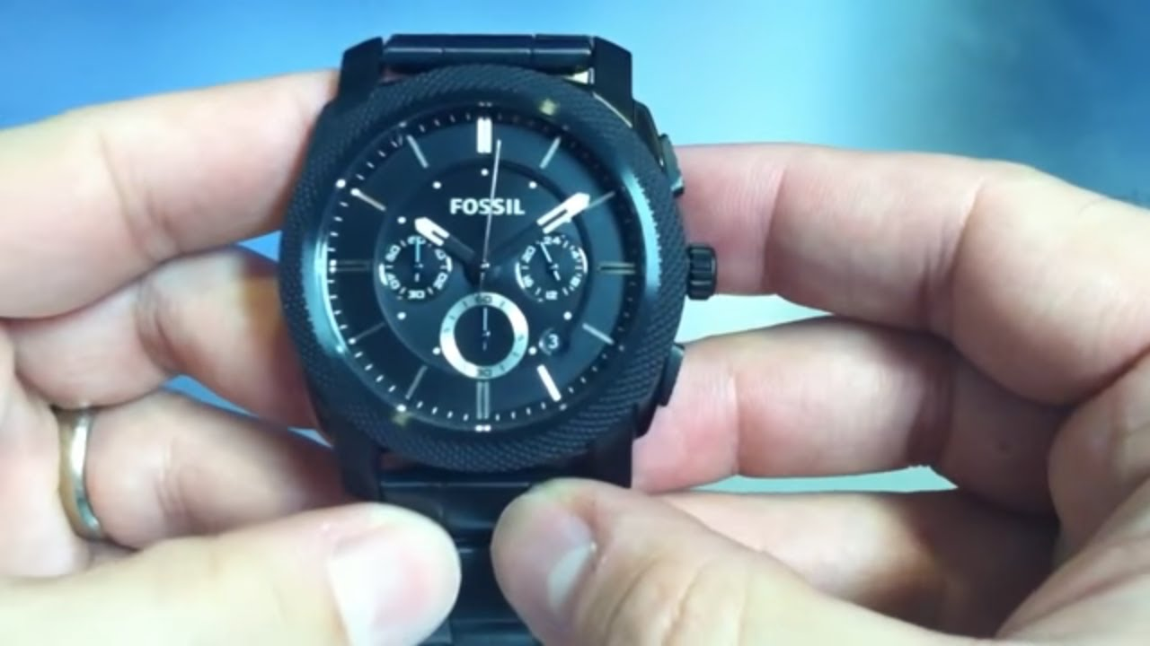 fossil watch fs4487 instructions
