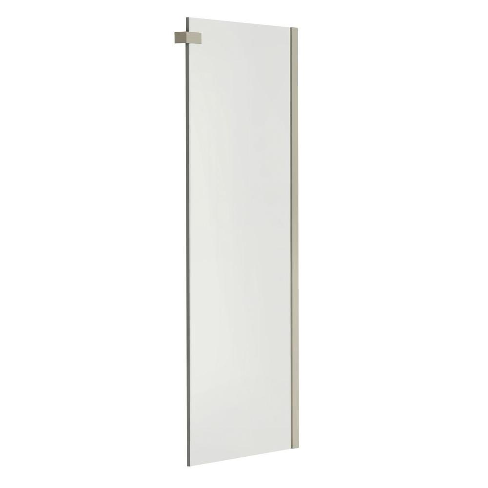 frameless shower panel installation instructions
