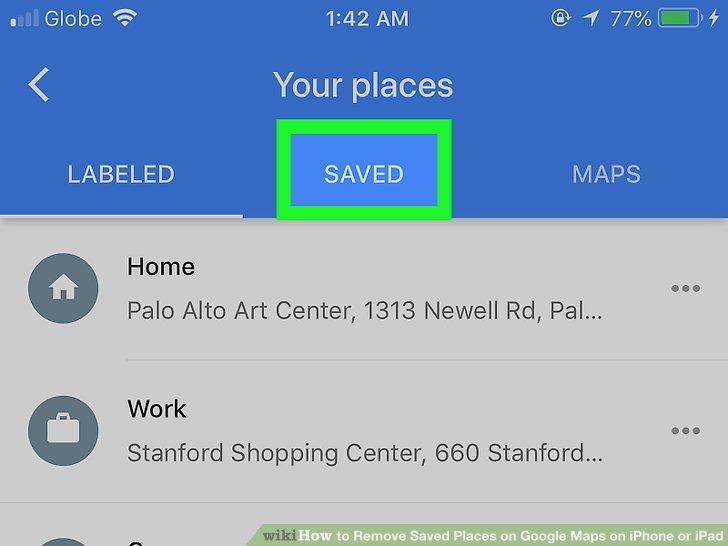 google maps instructions ipad
