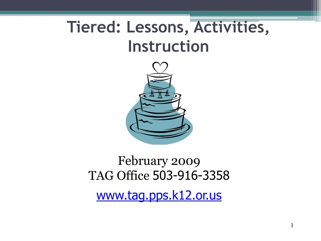 gunnings view of tiered instruction
