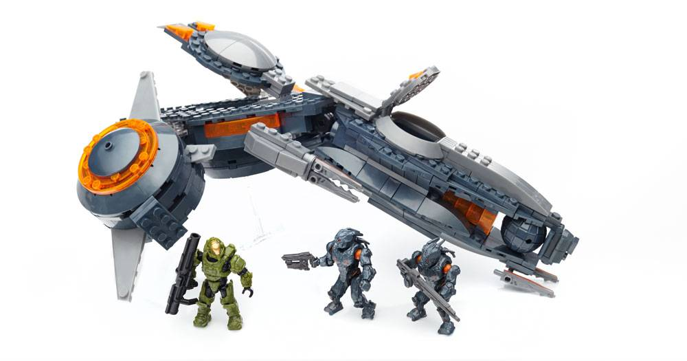 halo mega bloks phaeton gunship instructions