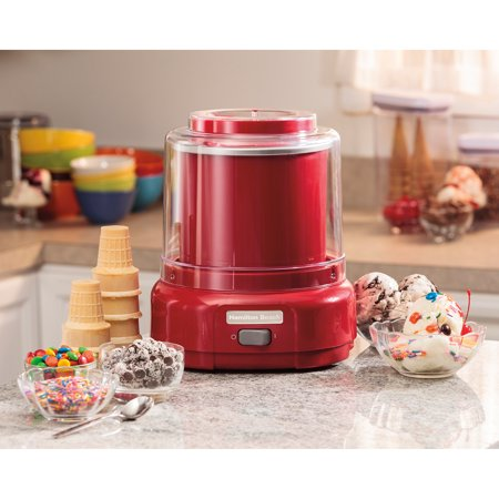 hamilton beach ice cream maker instruction manual