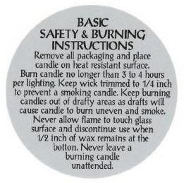 instructions for making soy lotion candles