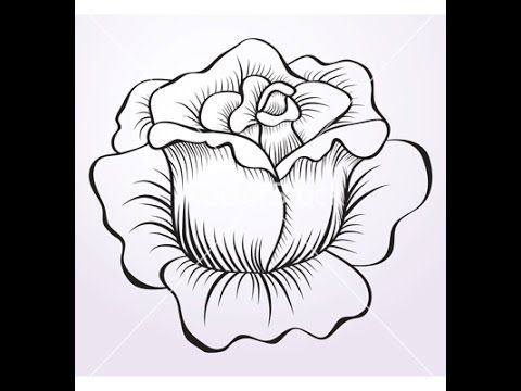 instructions on how to colour roses with prismacolors