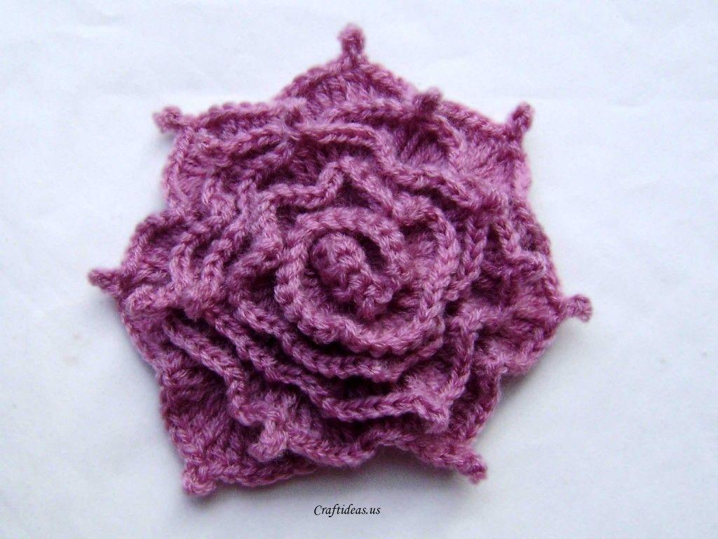 irish crochet rose instructions
