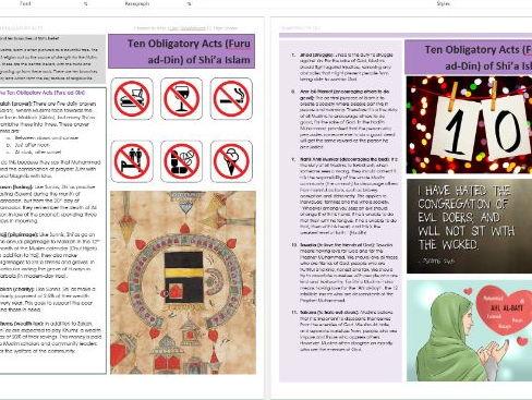 islamic instruction in koran practice of deceit
