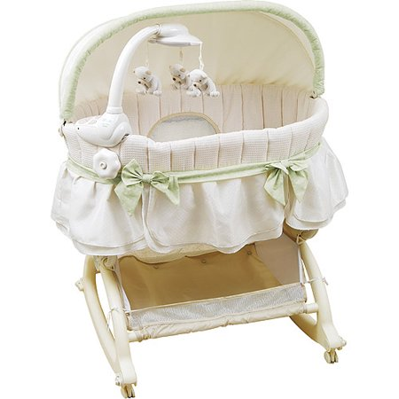 kolcraft cuddle n care rocking bassinet instructions