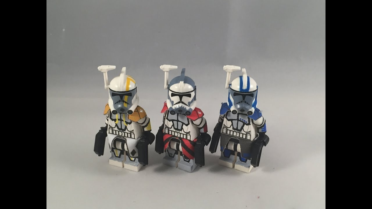 lego arc trooper instructions