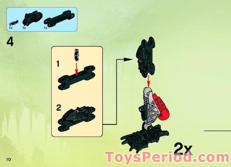 lego bionicle instructions tahu