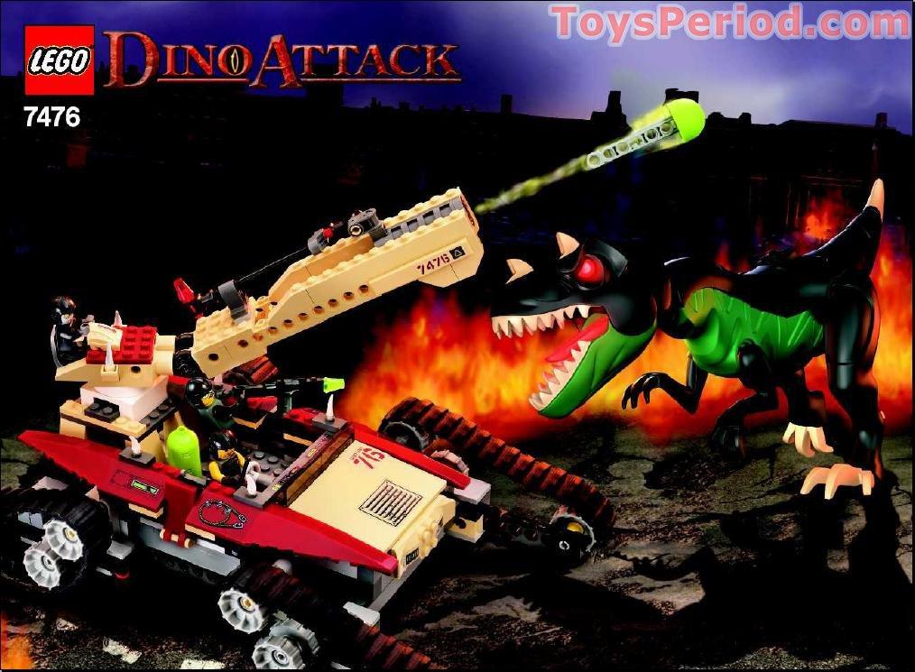 lego instructions t rex