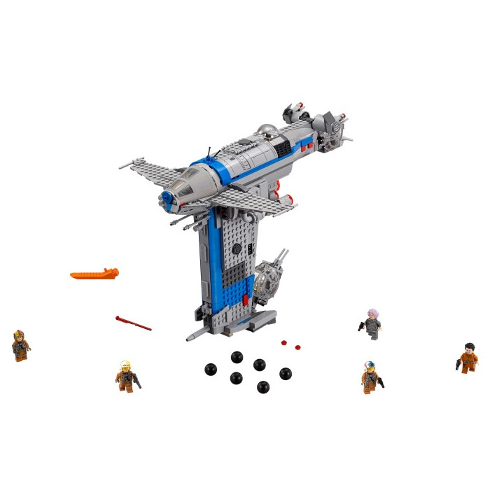 lego piece of resistance instructions