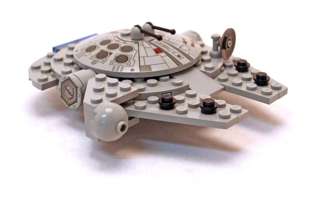 lego star wars mini millennium falcon 4488 instructions