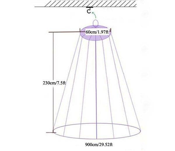 light dome canopy instructions