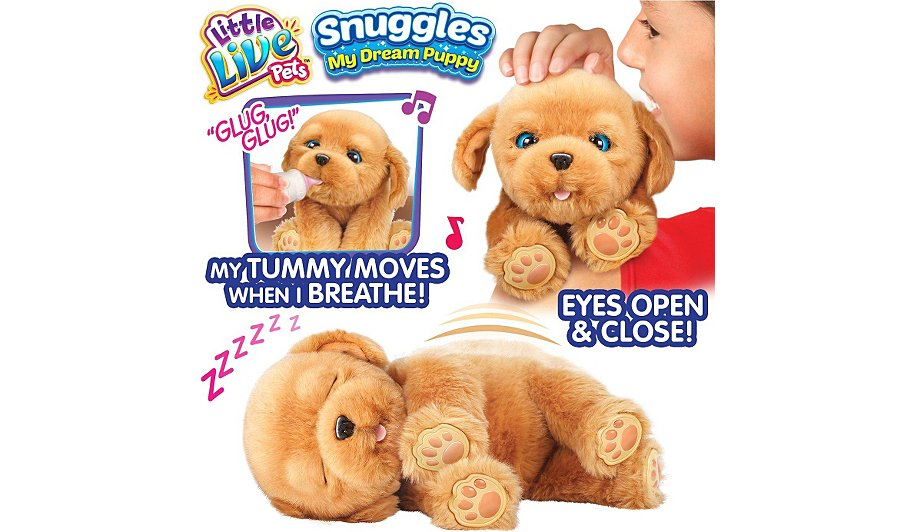 little live pets snuggles my dream puppy instructions