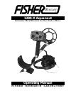 lone star metal detector instruction manual