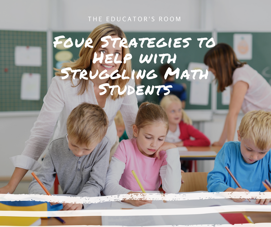 math instructional strategies for struggling students