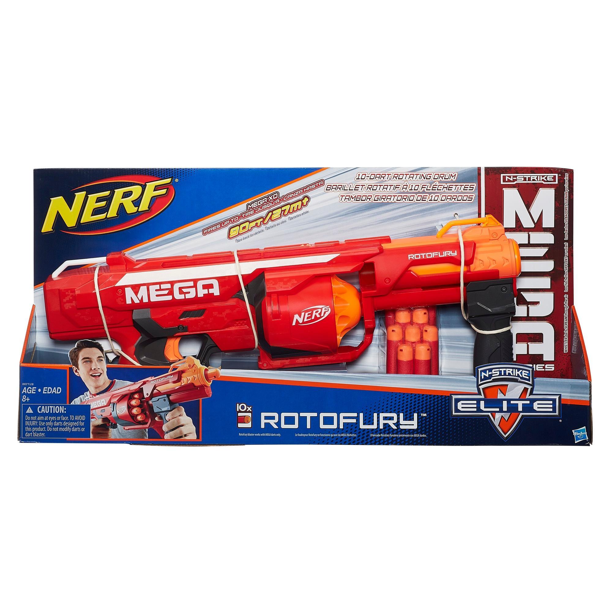 mega mastodon nerf gun instructions