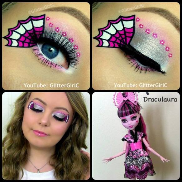 monster high makeup kit instructions