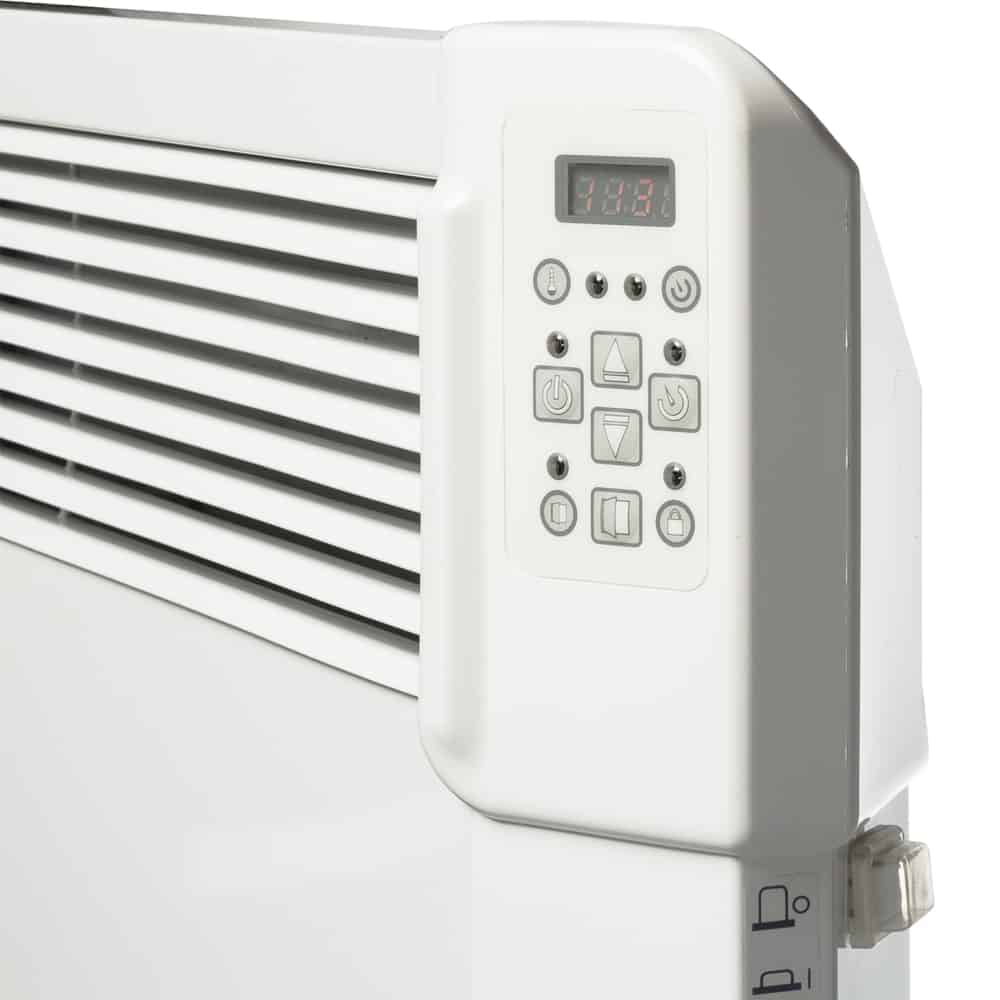 noirot 1500w panel heater with timer instructions