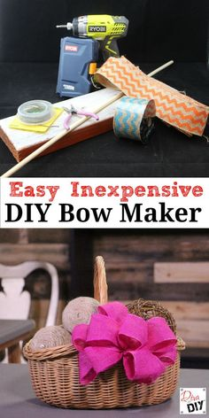 offray ez bow maker instructions