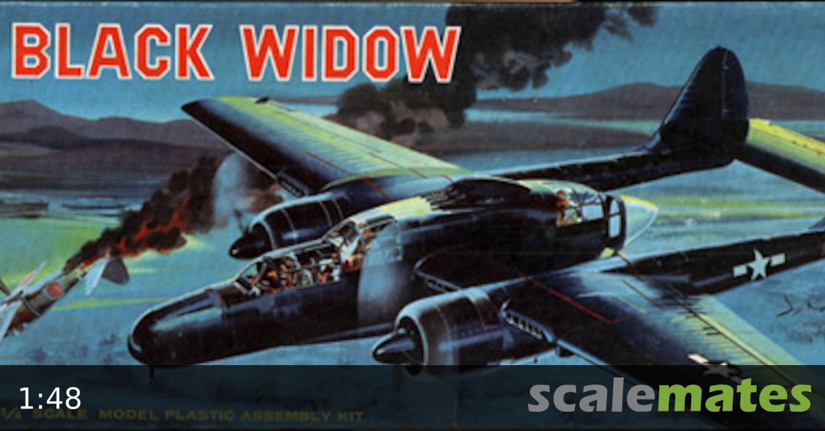 revell p 61 black widow instructions