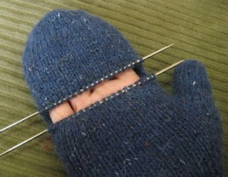right hand knitting instructions