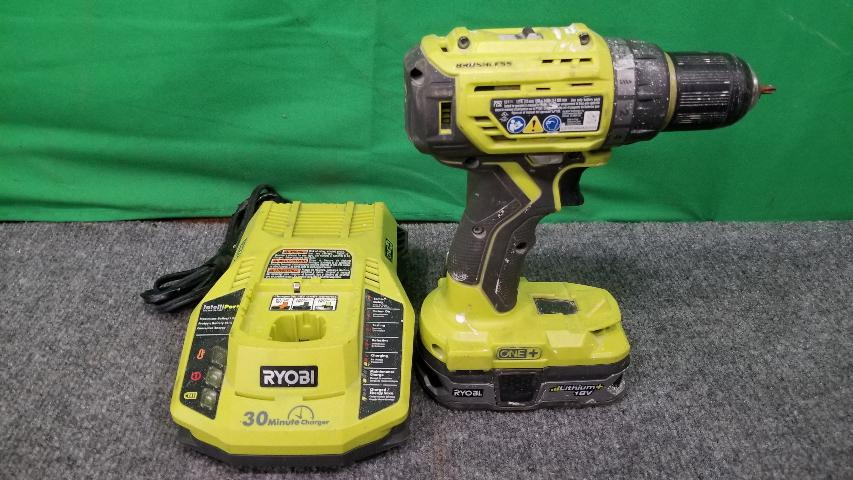 ryobi cordless drill 18v instructions