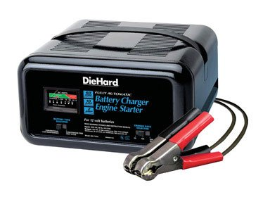 sears car battery charger instructions