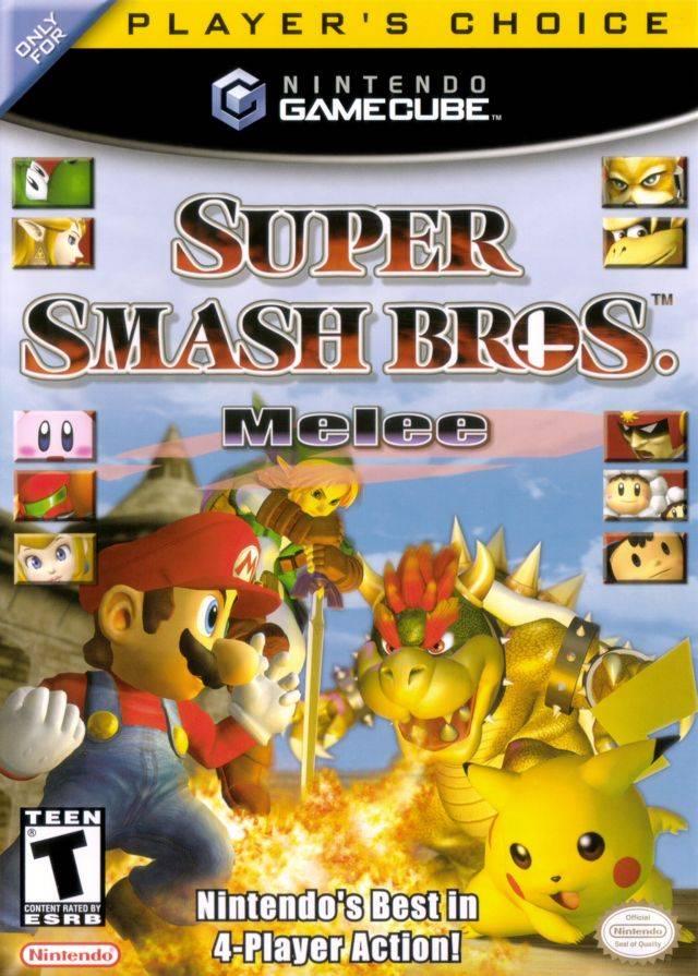 super smash bros melee instruction booklet