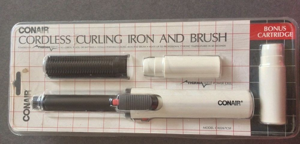 thermacell curling iron instructions