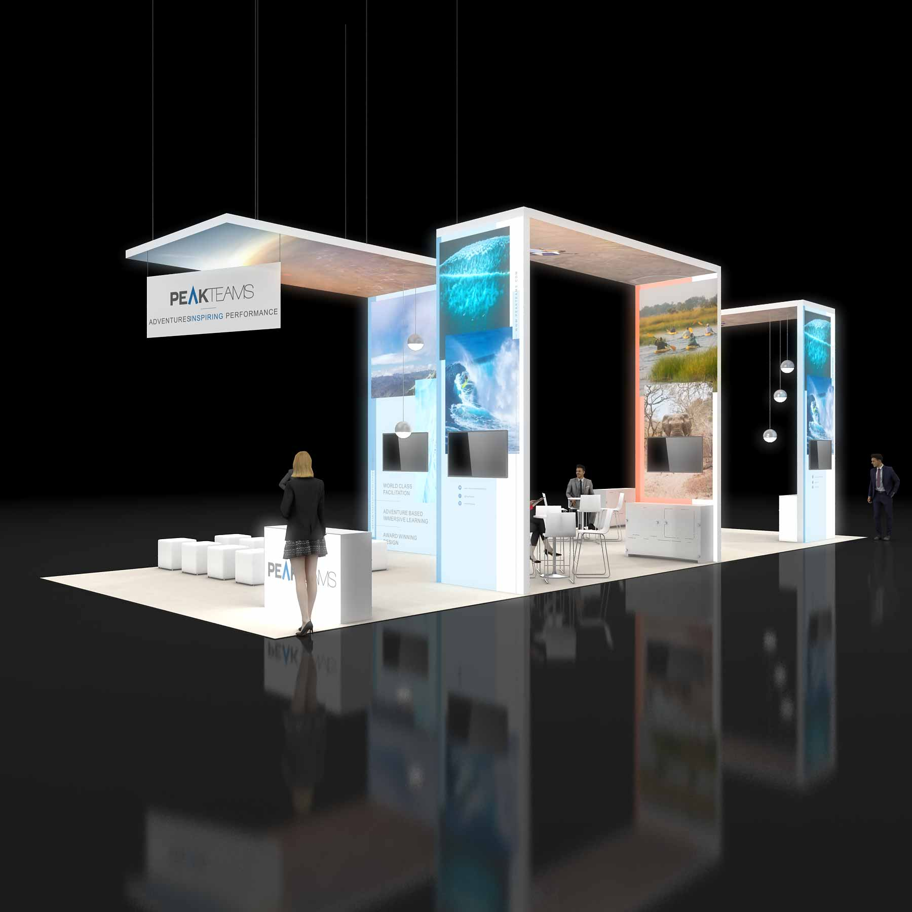 trade show booth setup instructions