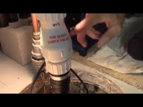 water hammer pump instructables