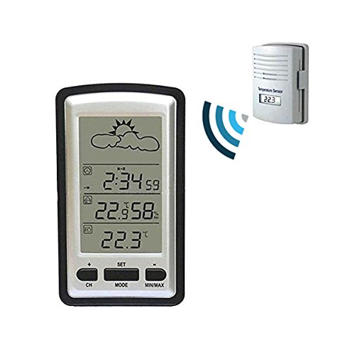 weather channel thermometer indoor outdoor instructions
