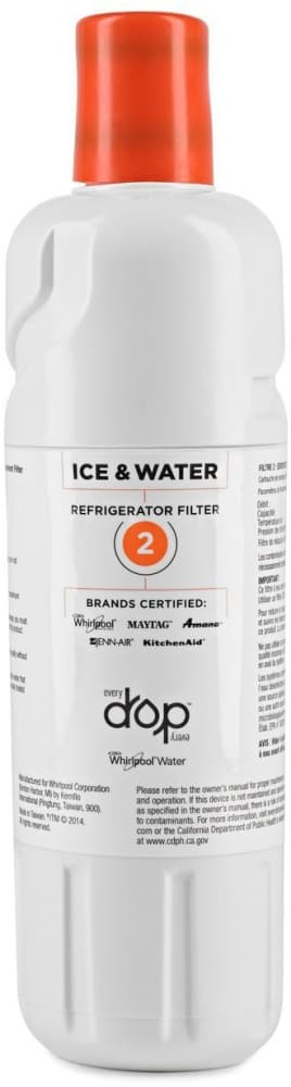 whirlpool ice and water filter replacement instructions