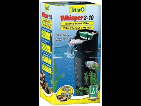whisper 10i filter instructions